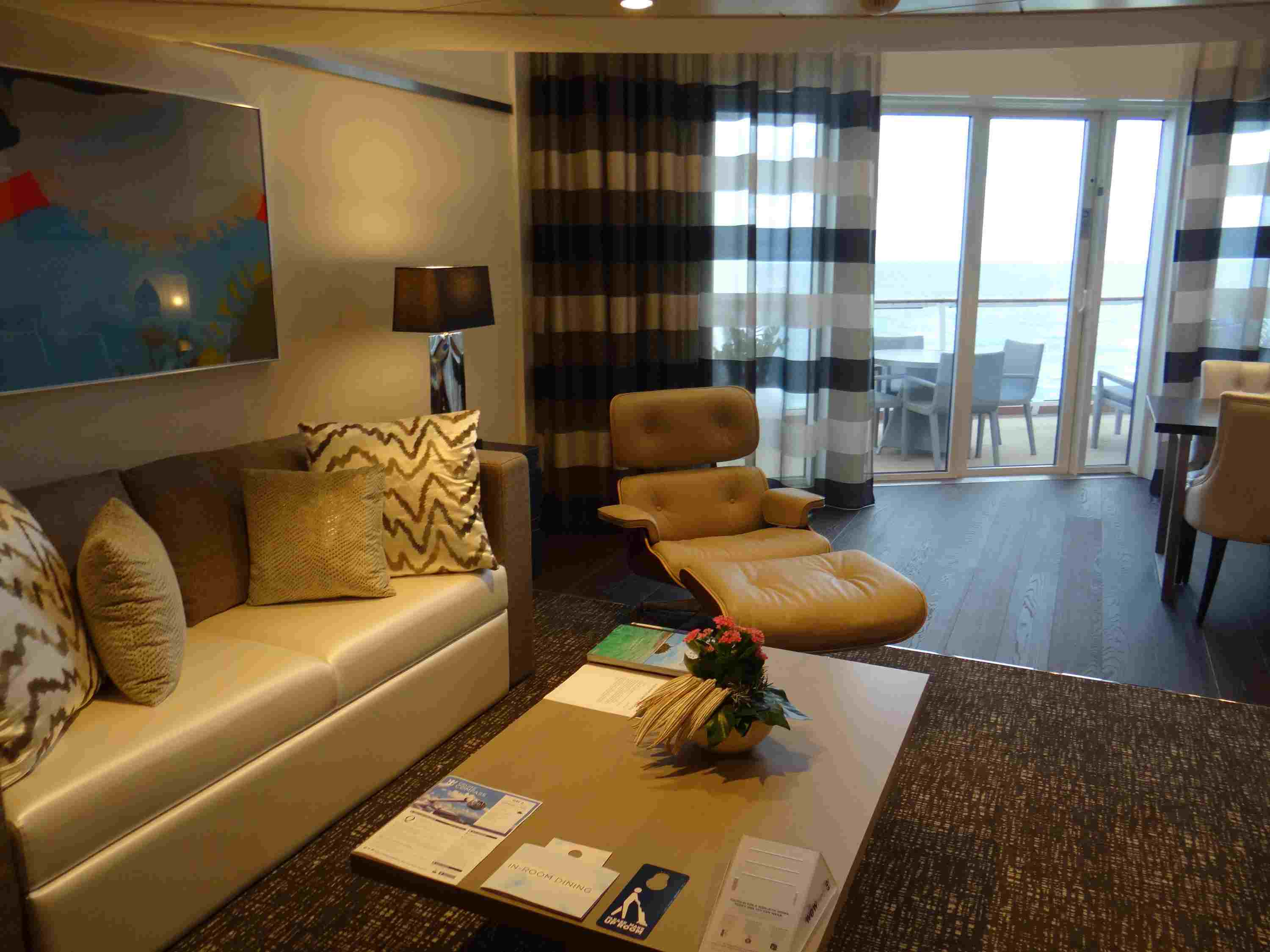Quantum of the Seas Owner's Loft Suite with Balcony
