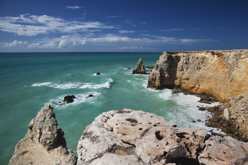 Cabo Rojo, coastline seascape