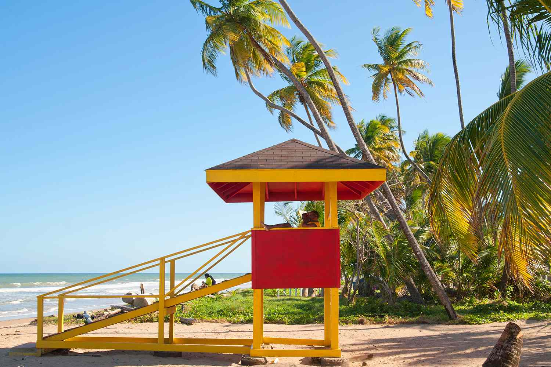 Lifeguard Station, Mayaro Beach, Trinidad