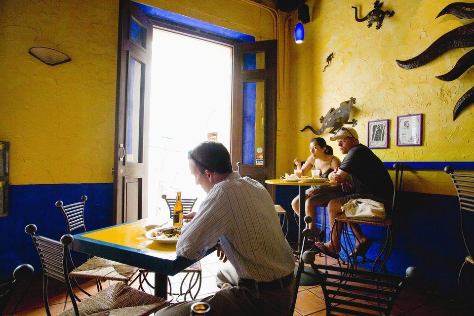 Dining in San Juan