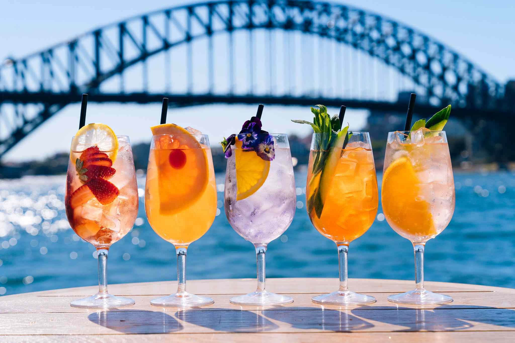 Cocktails at Opera Bar