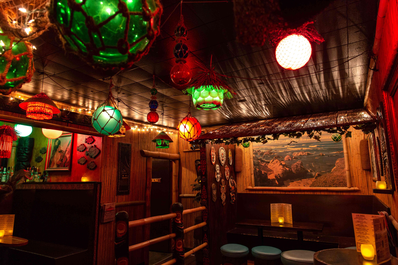 Inside of Foundation Tiki Bar