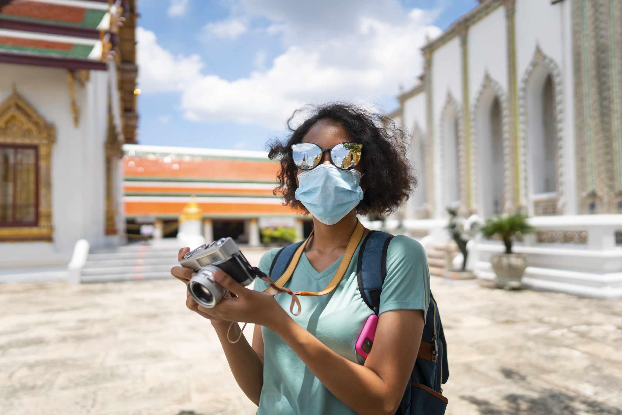 Tourist in Bangkok, Thailand