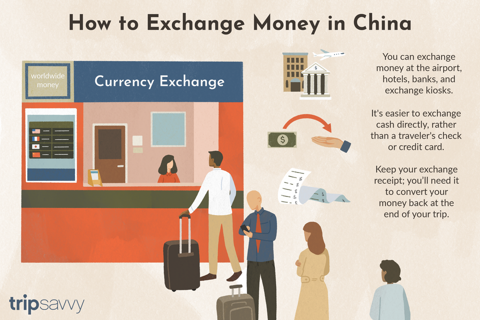exchanging money in china
