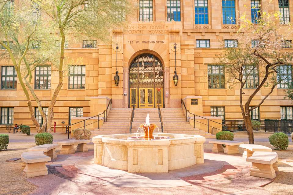 Maricopa County Court House in Phoenix Arizona USA