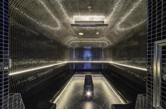 Steam Room in the Mandara Spa on the Norwegian Getaway