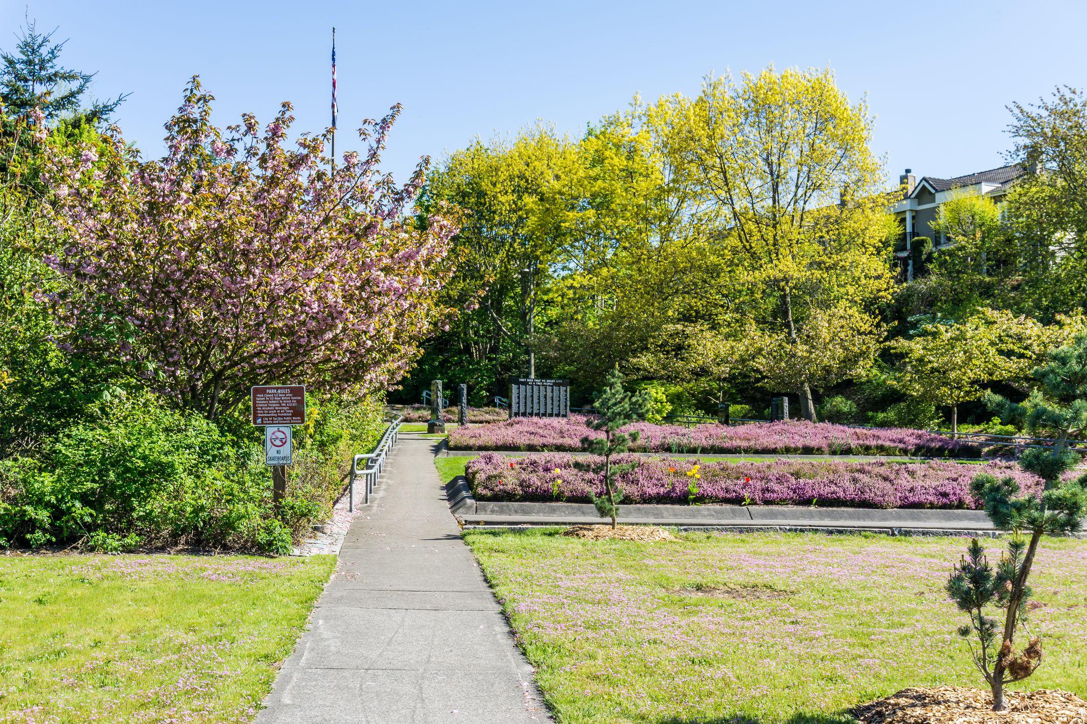 War Memorial Park in Tacoma, Washington
