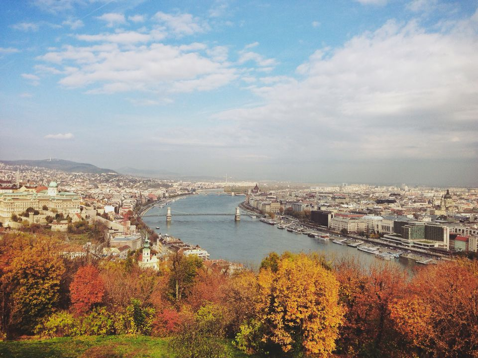 Autumn Colors in Budapest