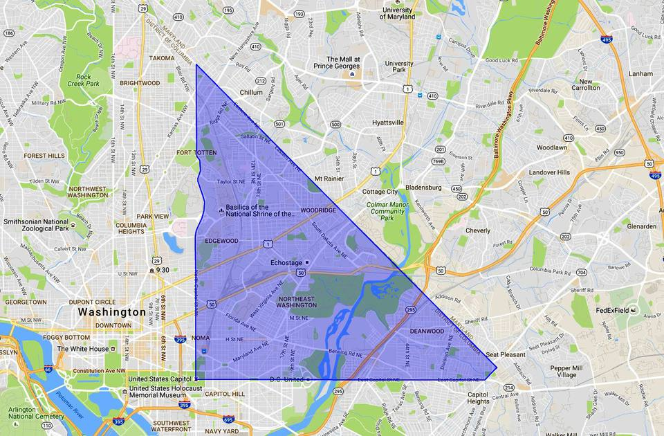 NE Washington DC: A Map and Neighborhood Guide