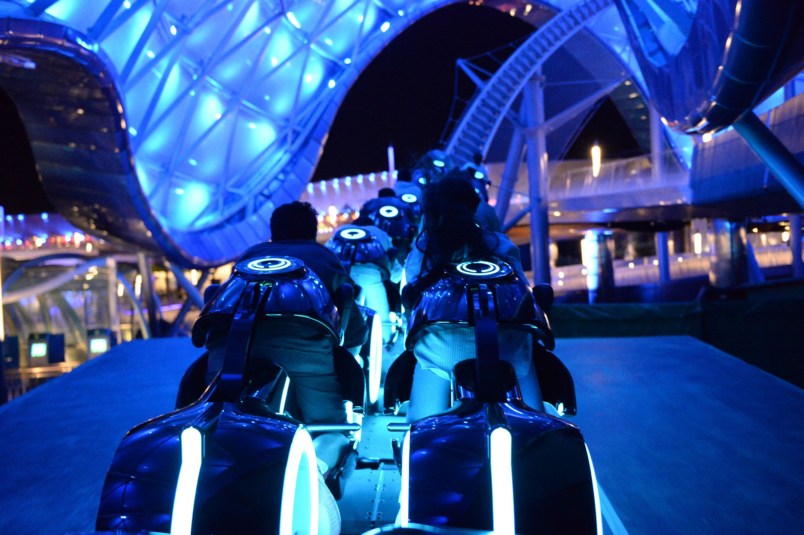 Tron Roller Coaster - Review of Shanghai Disneyland Ride