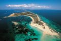 Formentera aerial view