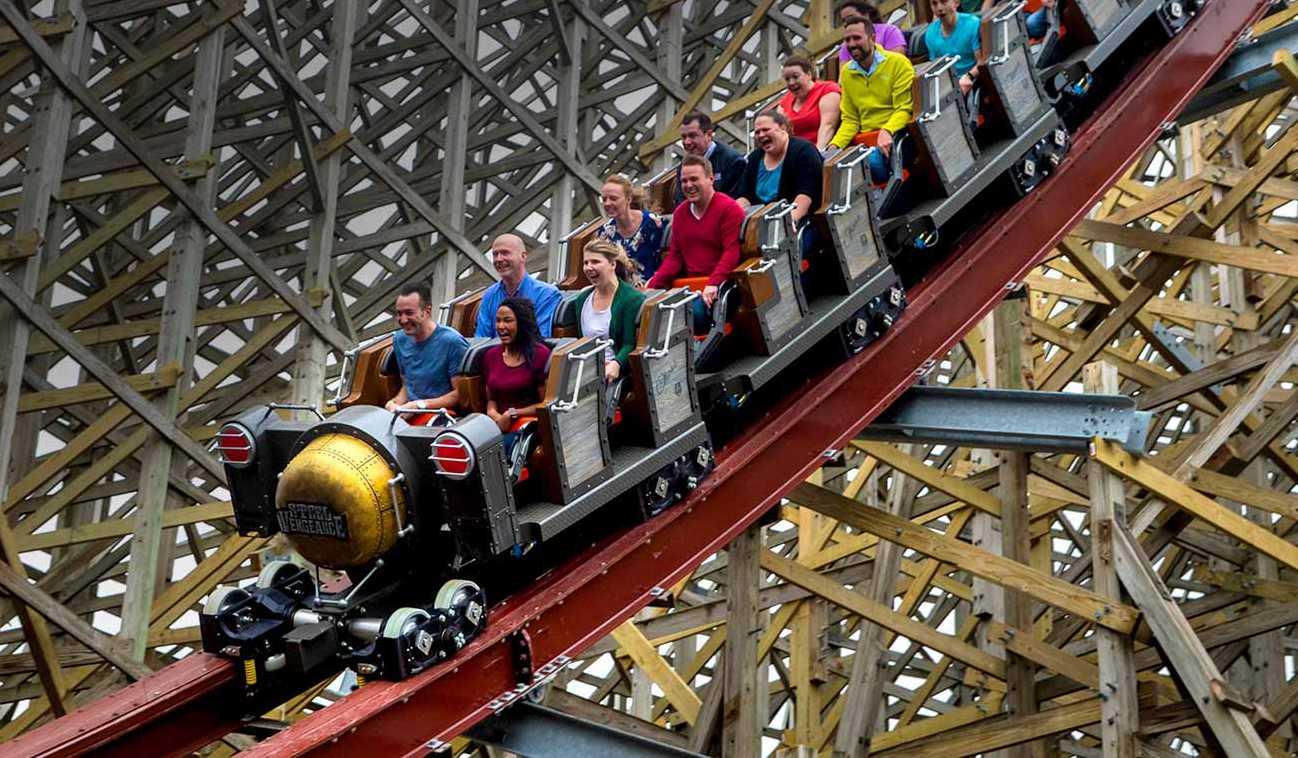 Steel Vengeance coaster at Cedar Point