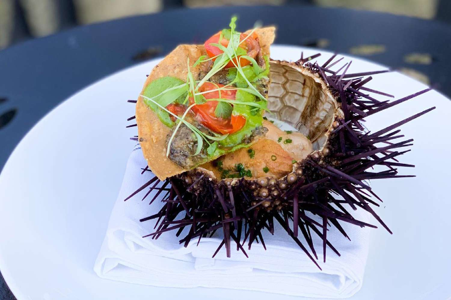 Urchin for dinner at UNI in Boston