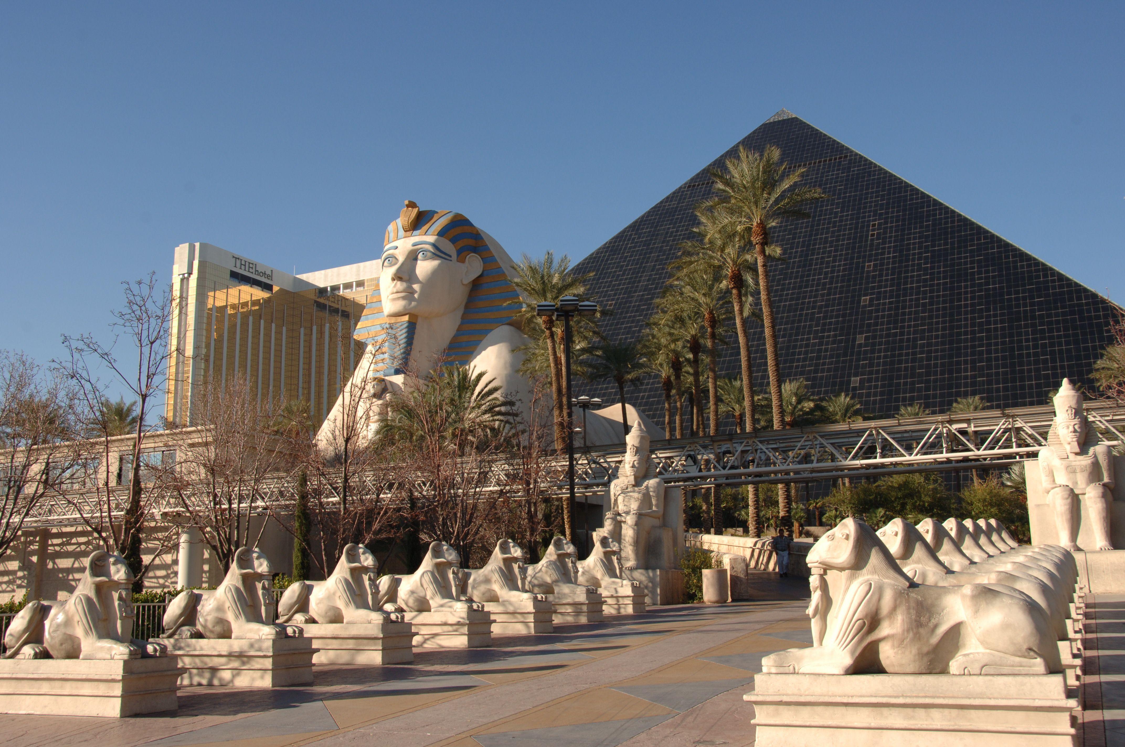 Luxor Hotel Las Vegas Lichtstrahl