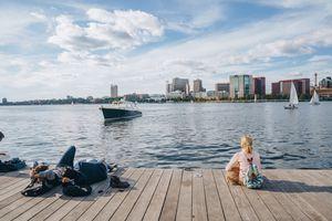 Charles River Esplanade in Boston