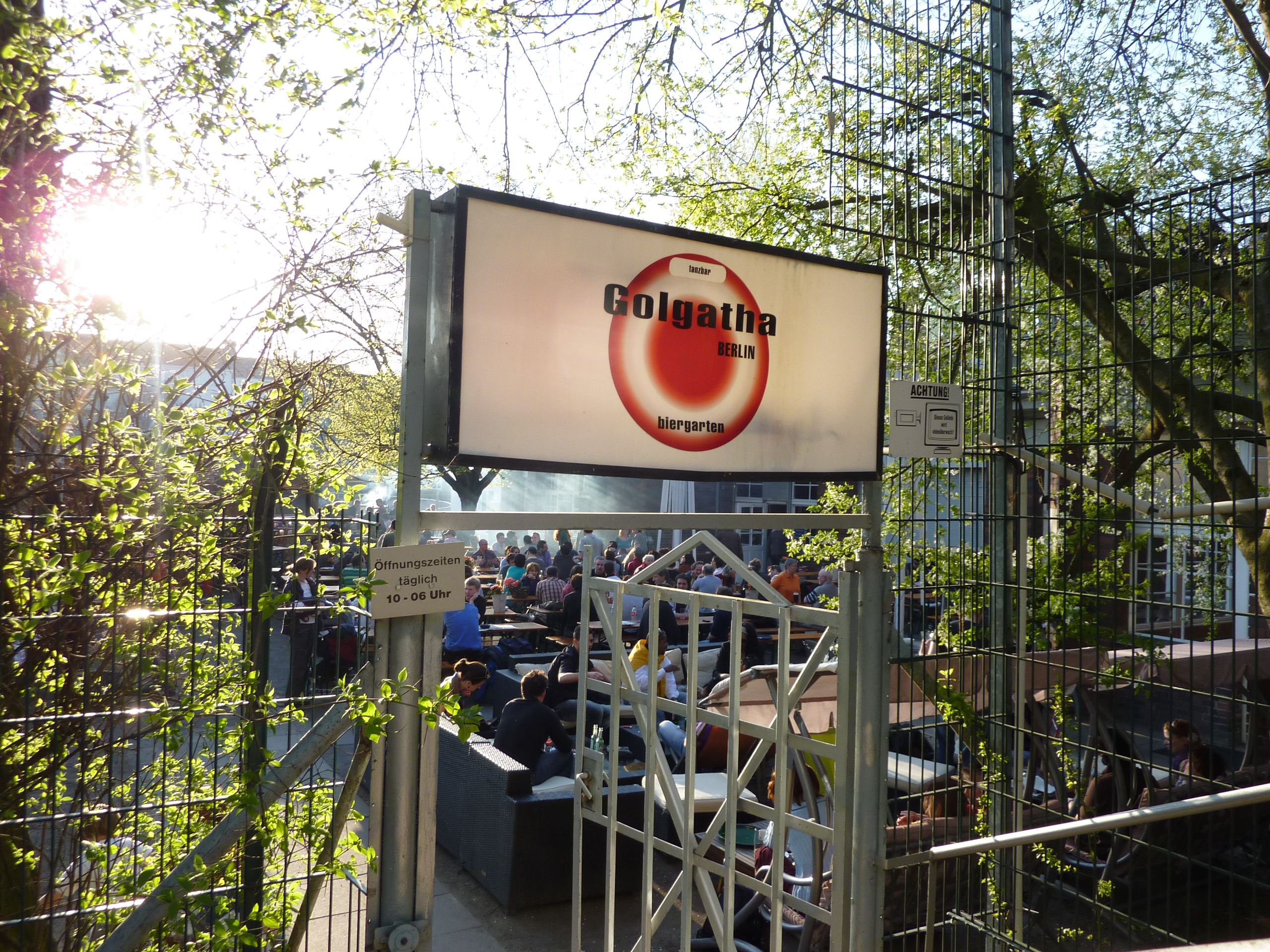 Biergarten Golgatha Berlin