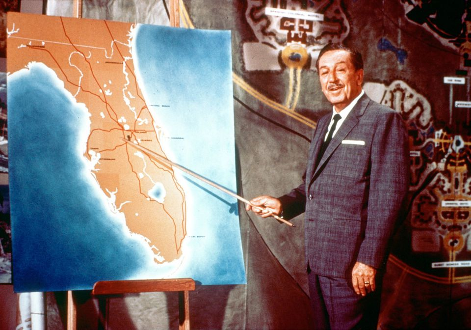 "Walt Disney Announces the ""Florida Project"""