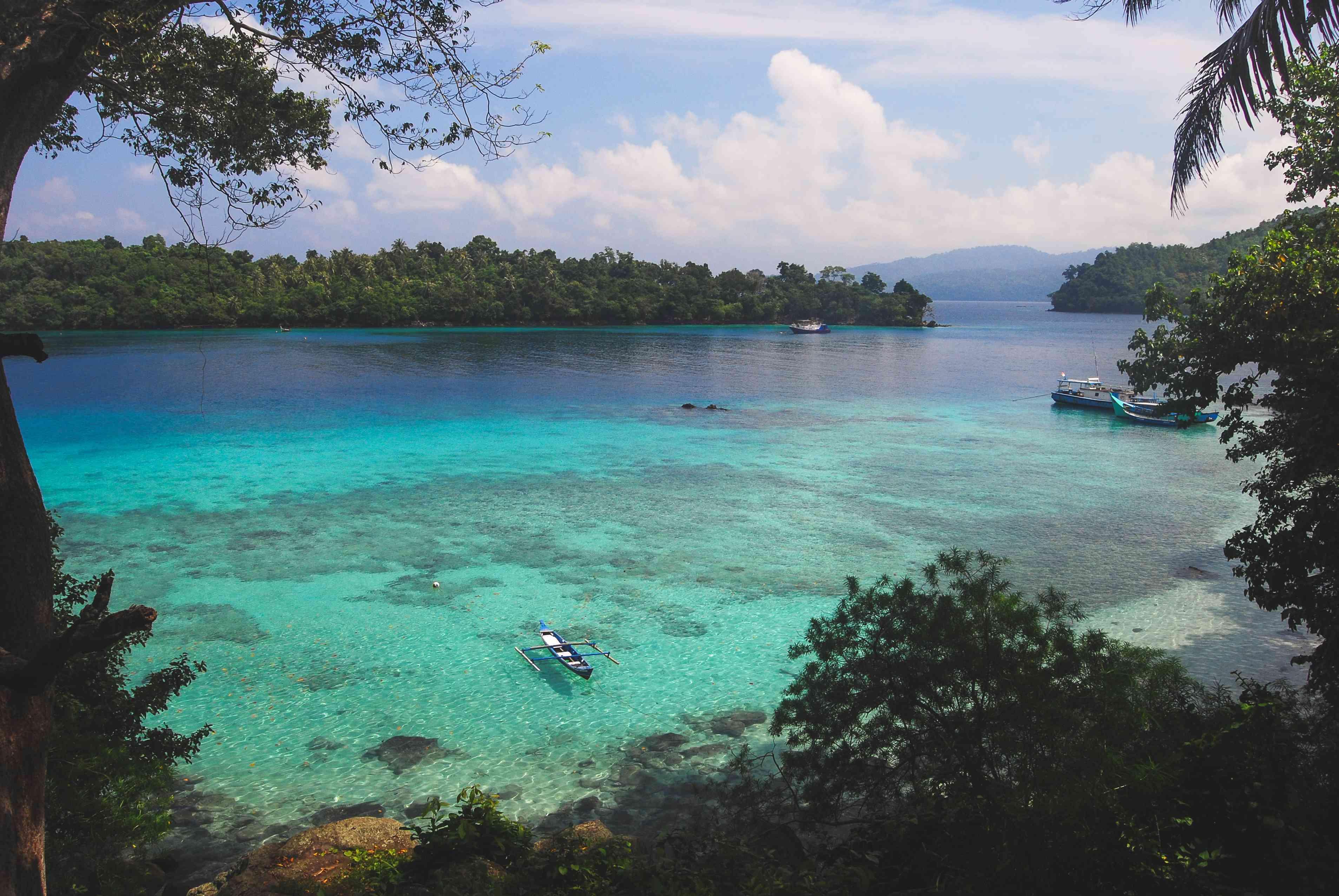 Bay at Pulau Weh in Sumatra