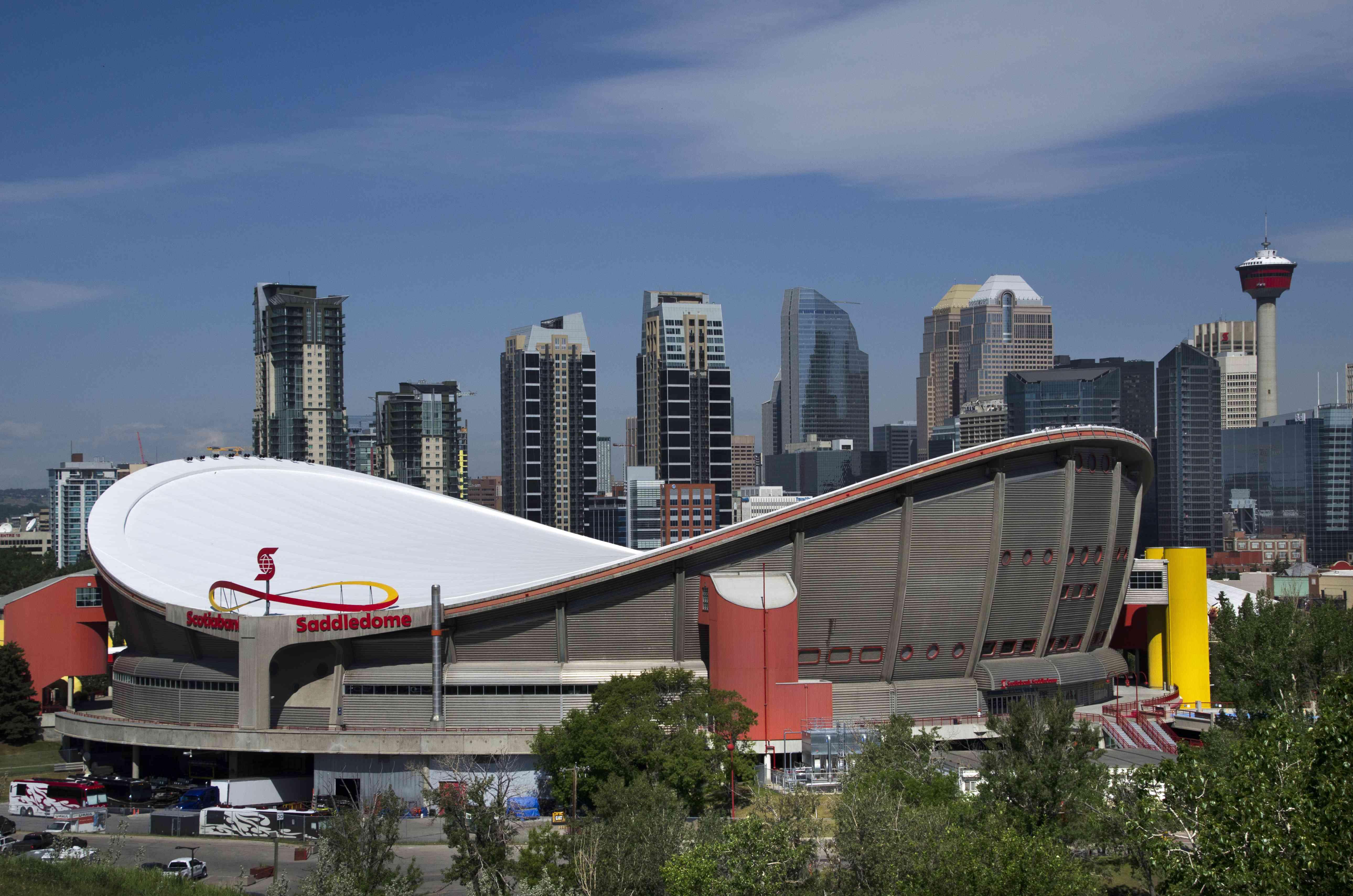 Saddledome Stadium in Calgary