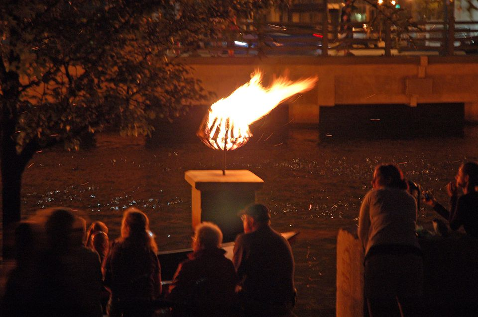 WaterFire Bonfire