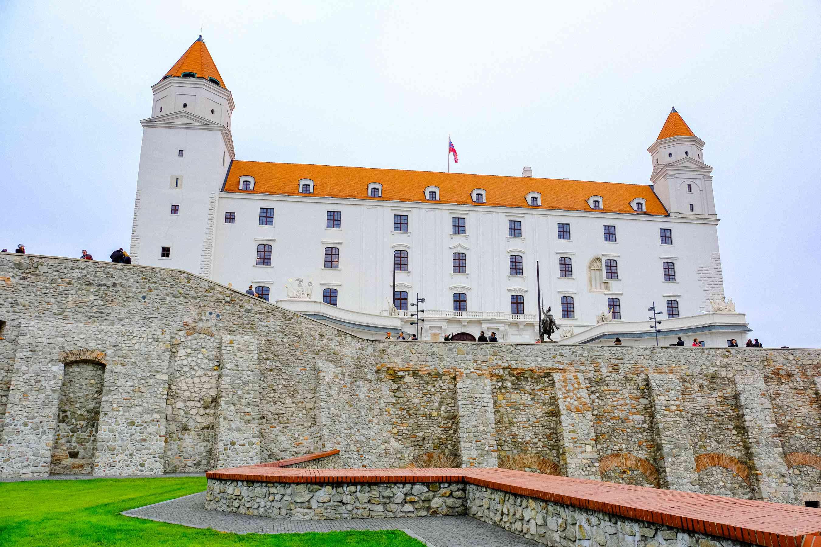 Exterior del castillo de Bratislava