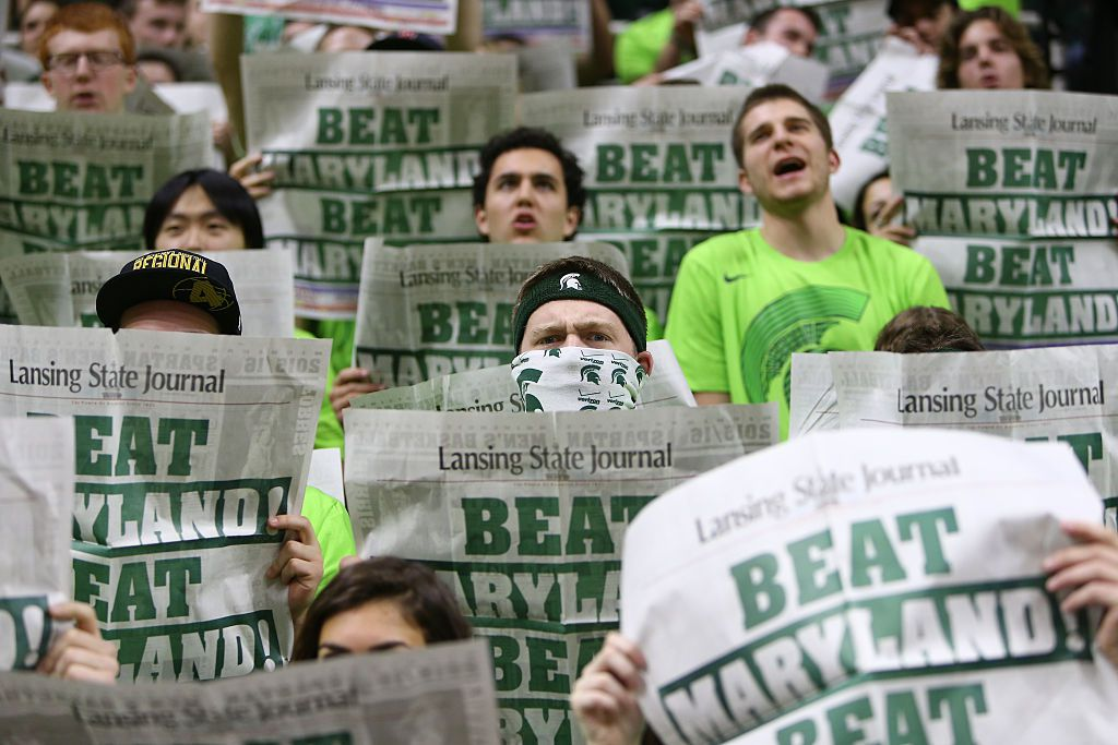 The Izzone at the Breslin Center