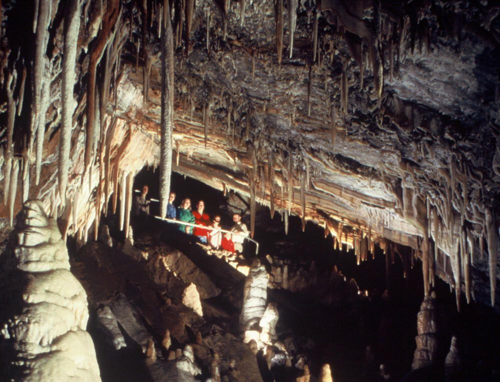 Glenwood Caverns, at Glenwood Adventure Park. Photo © Norm Thompson.