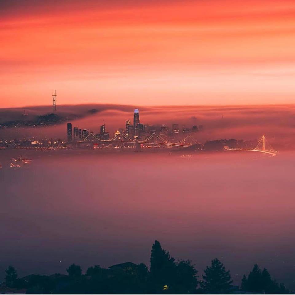 San Francisco's changing skies