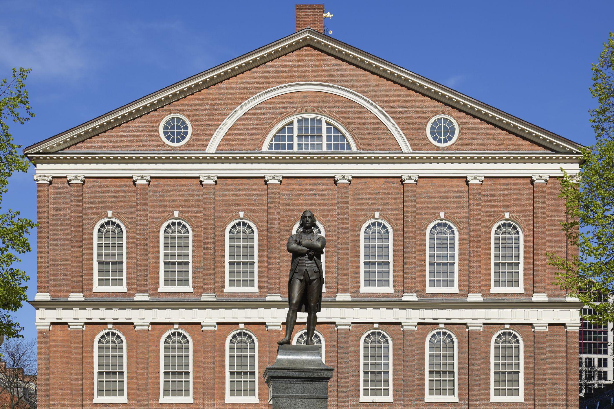 Faneuil Hall Boston National Historical Park