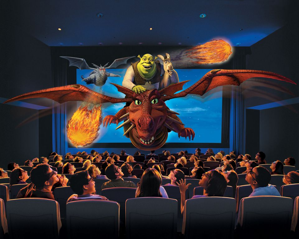 Shrek 4-D at the Universal Studios parks