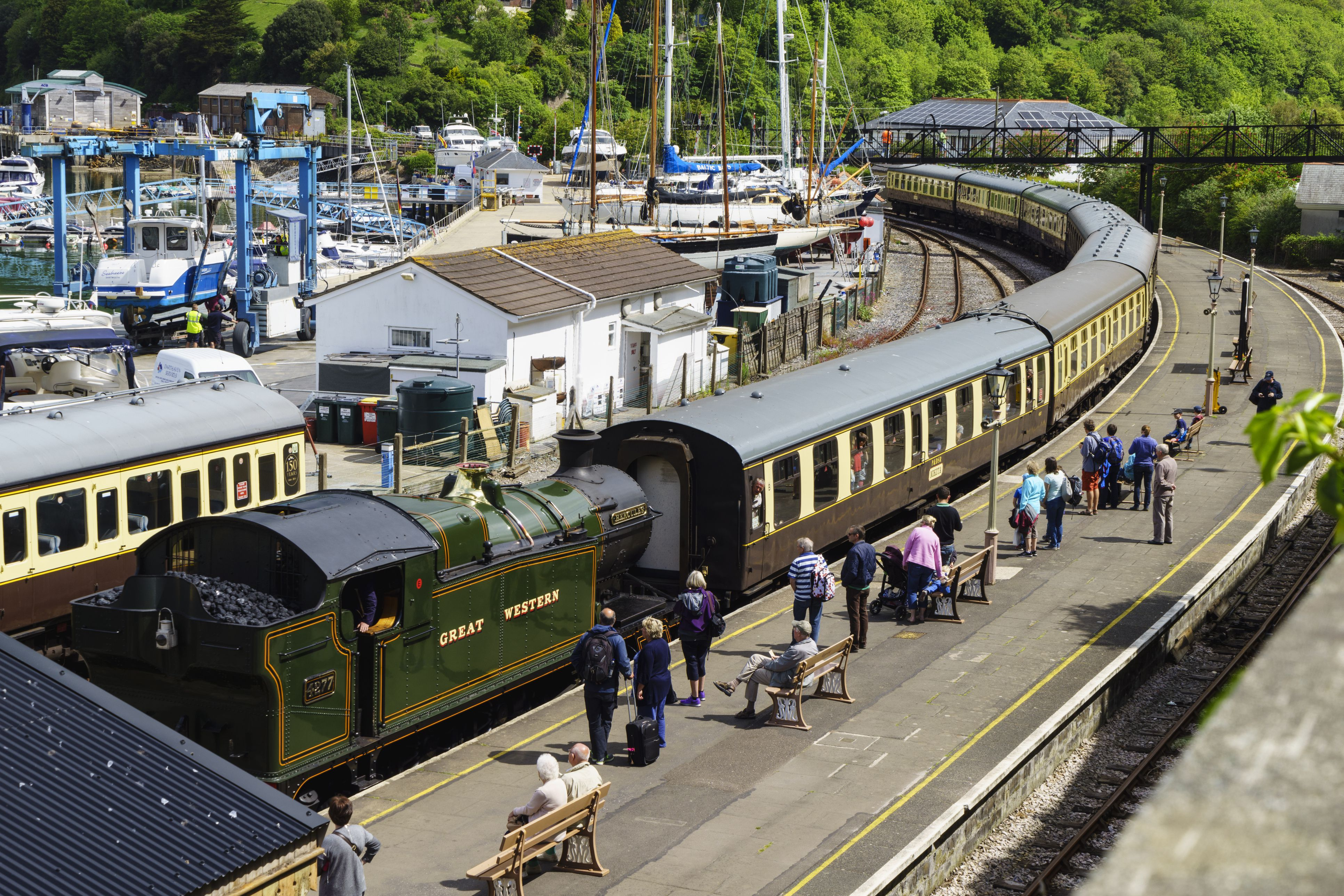 Steam and Heritage Railways in England s West Country