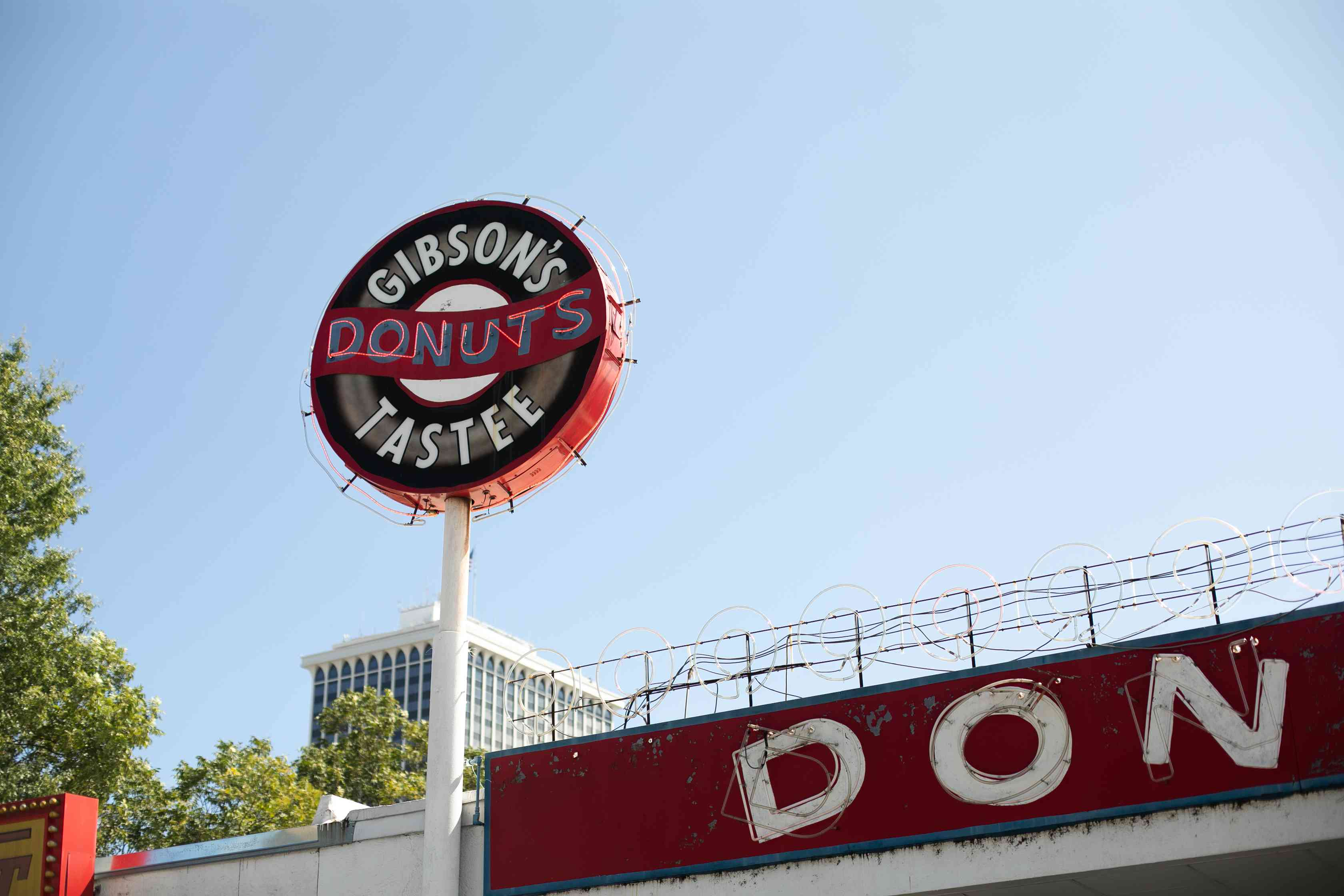 Gibson's Donuts in Memphis, Tennessee