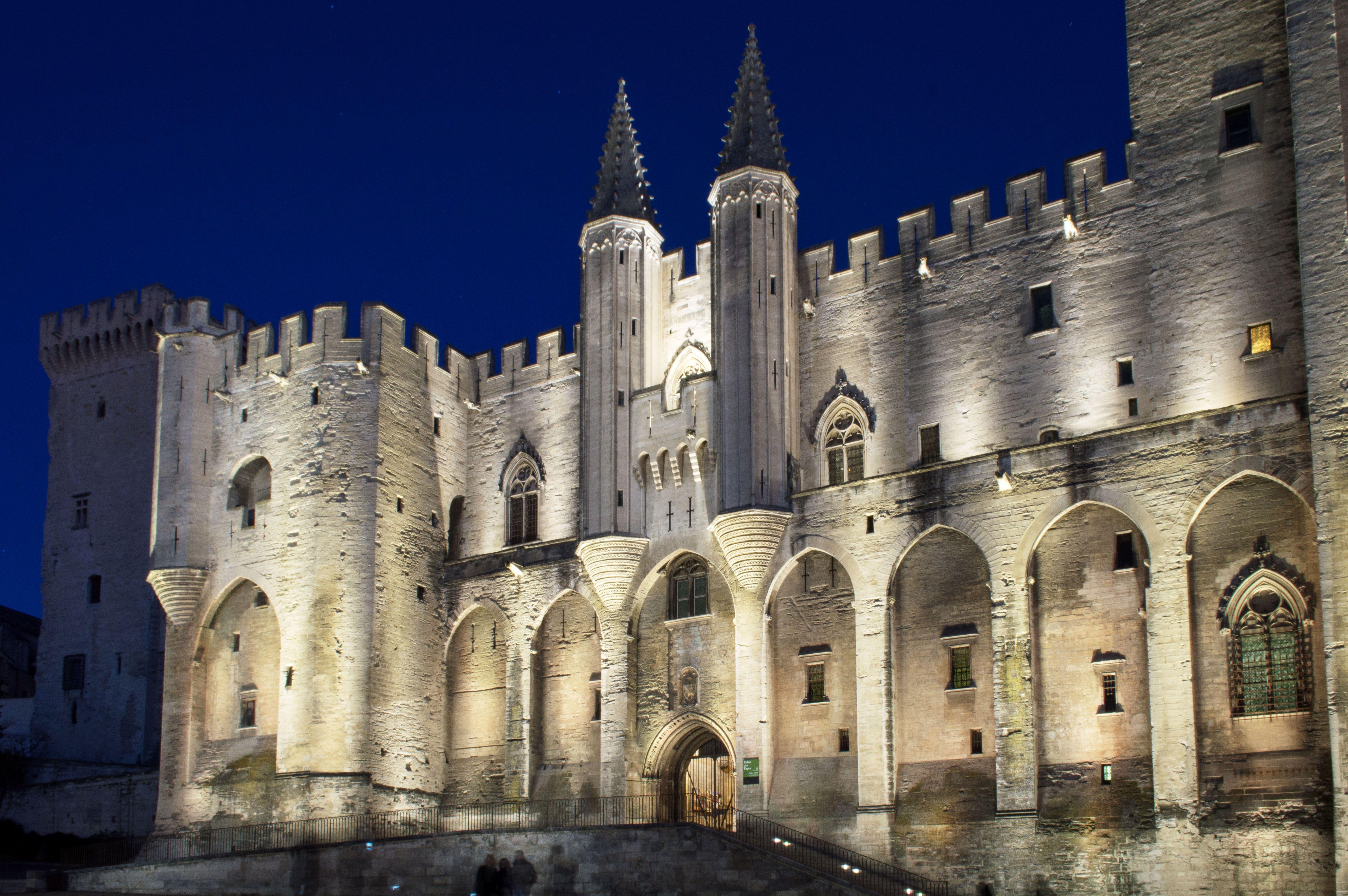 Palais Des Papes in Avignon