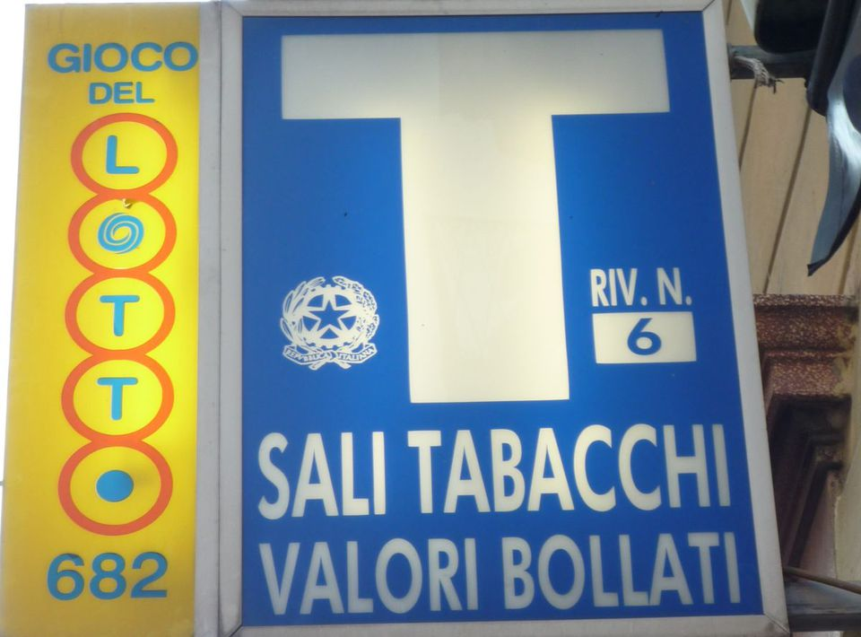Tabacchi shops and tobacco in italy what to buy in a tabacchi shop in italy m4hsunfo