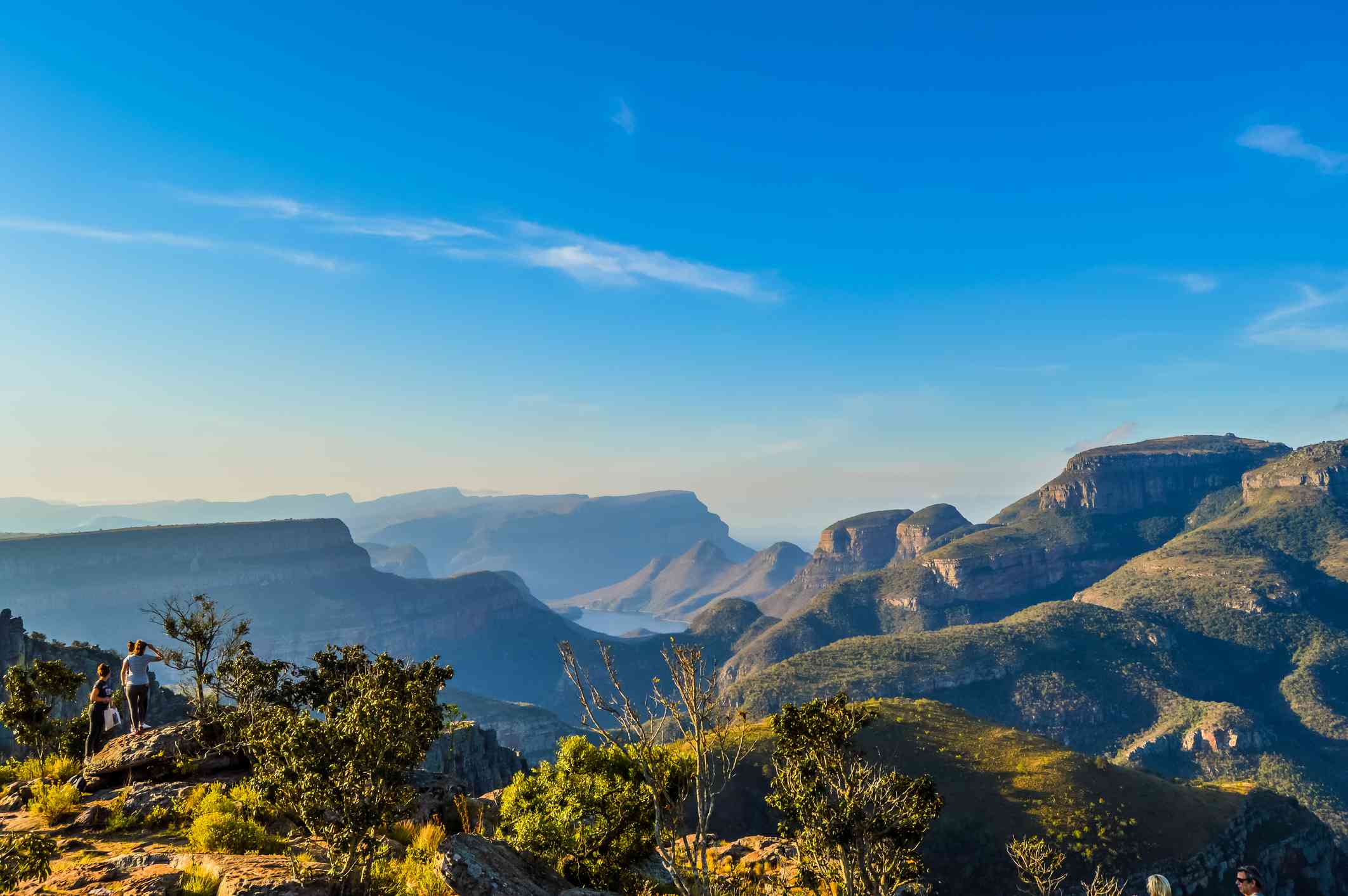 View of Blyde River Canyon from the Panorama Route, Mpumalanga