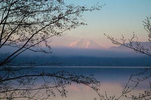 Sunrise at Lake Sammamish.