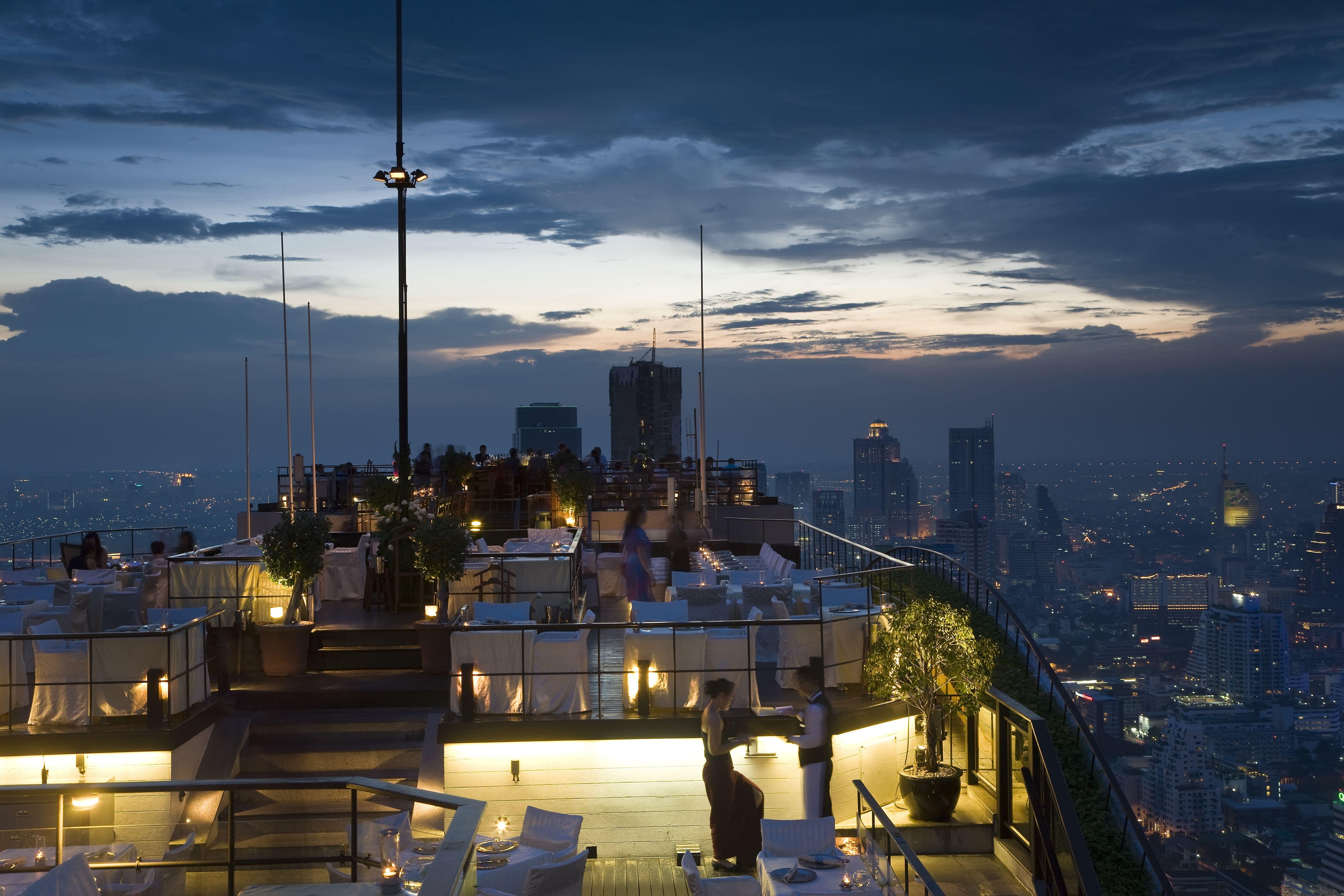 Bar Vértigo en Bangkok