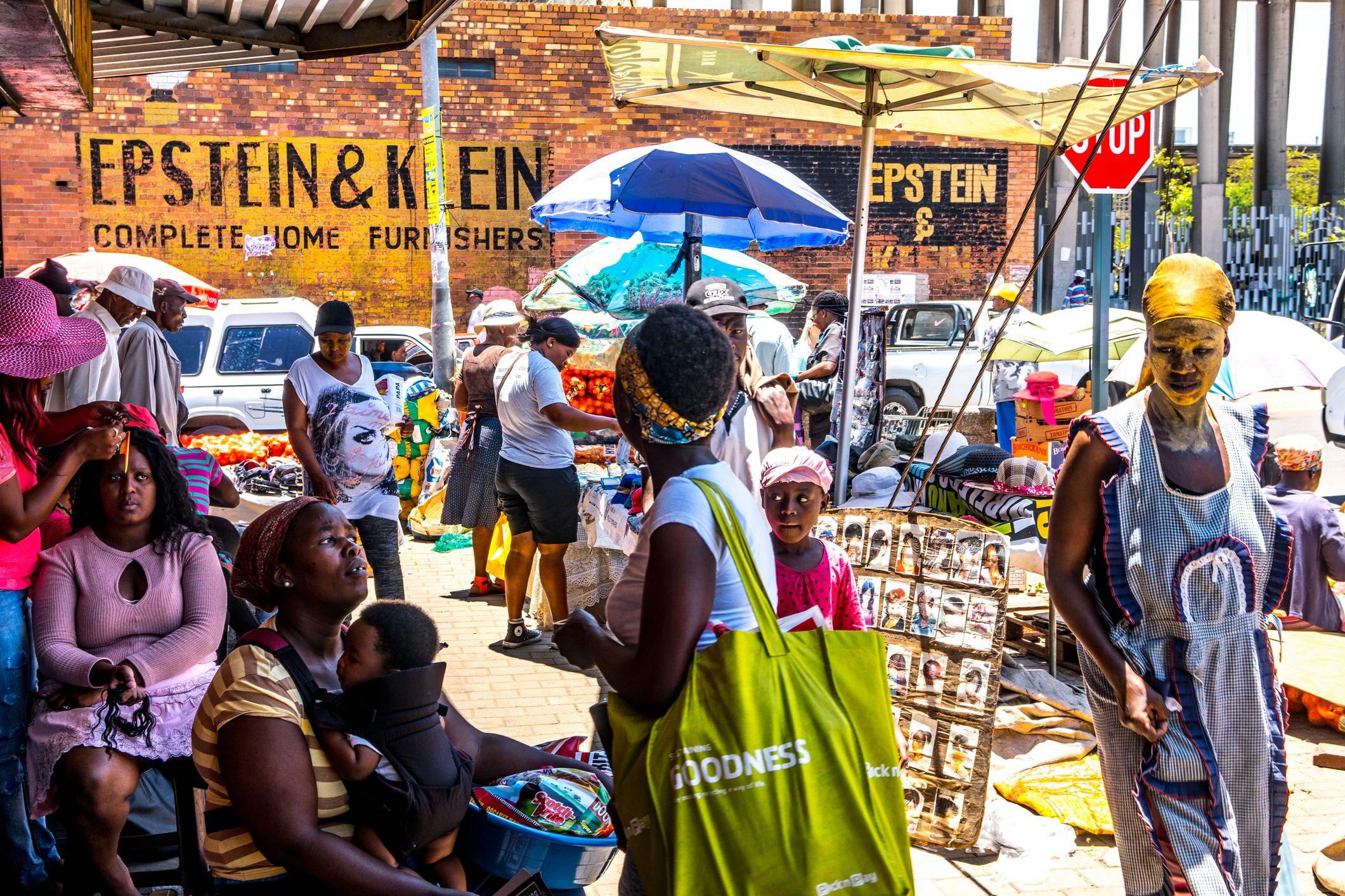 Street Scene, Soweto