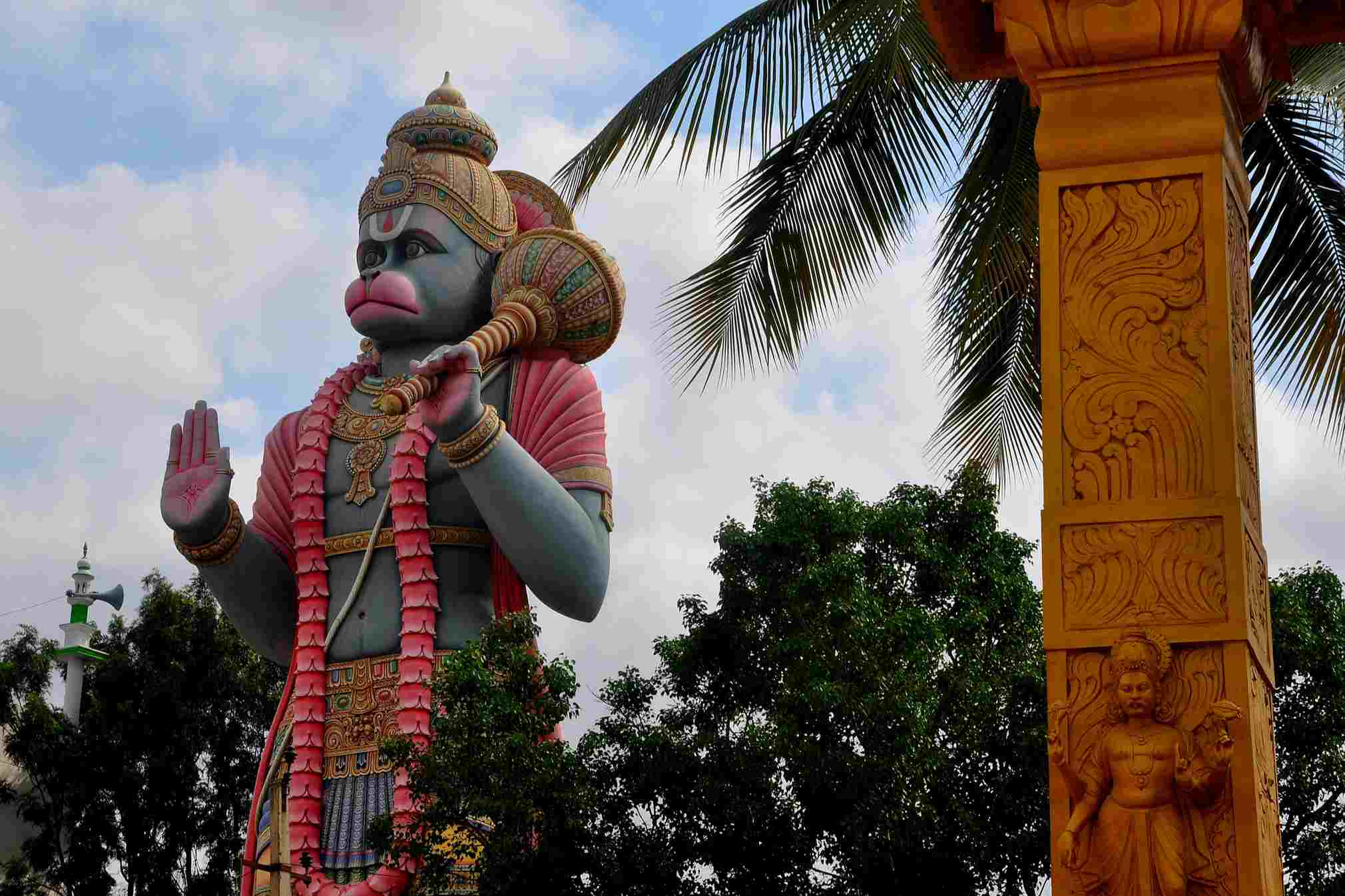 Hanuman temple, Bangalore.