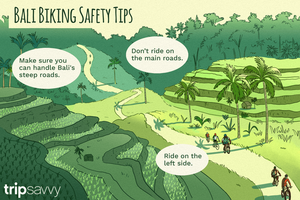 safety tips for biking in Bali