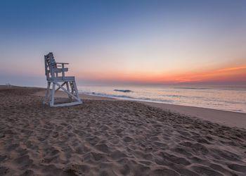 Lifeguard Chair at Coast Guard Beach