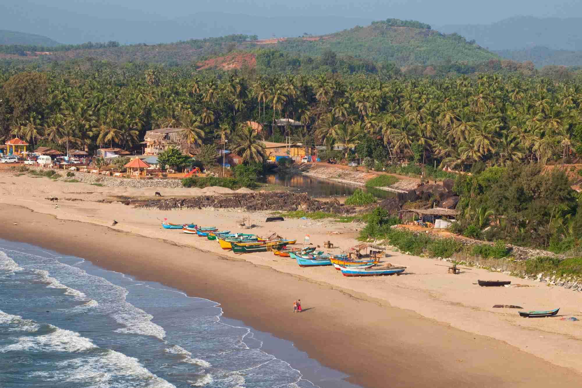 Gokarna beach, Karnataka.
