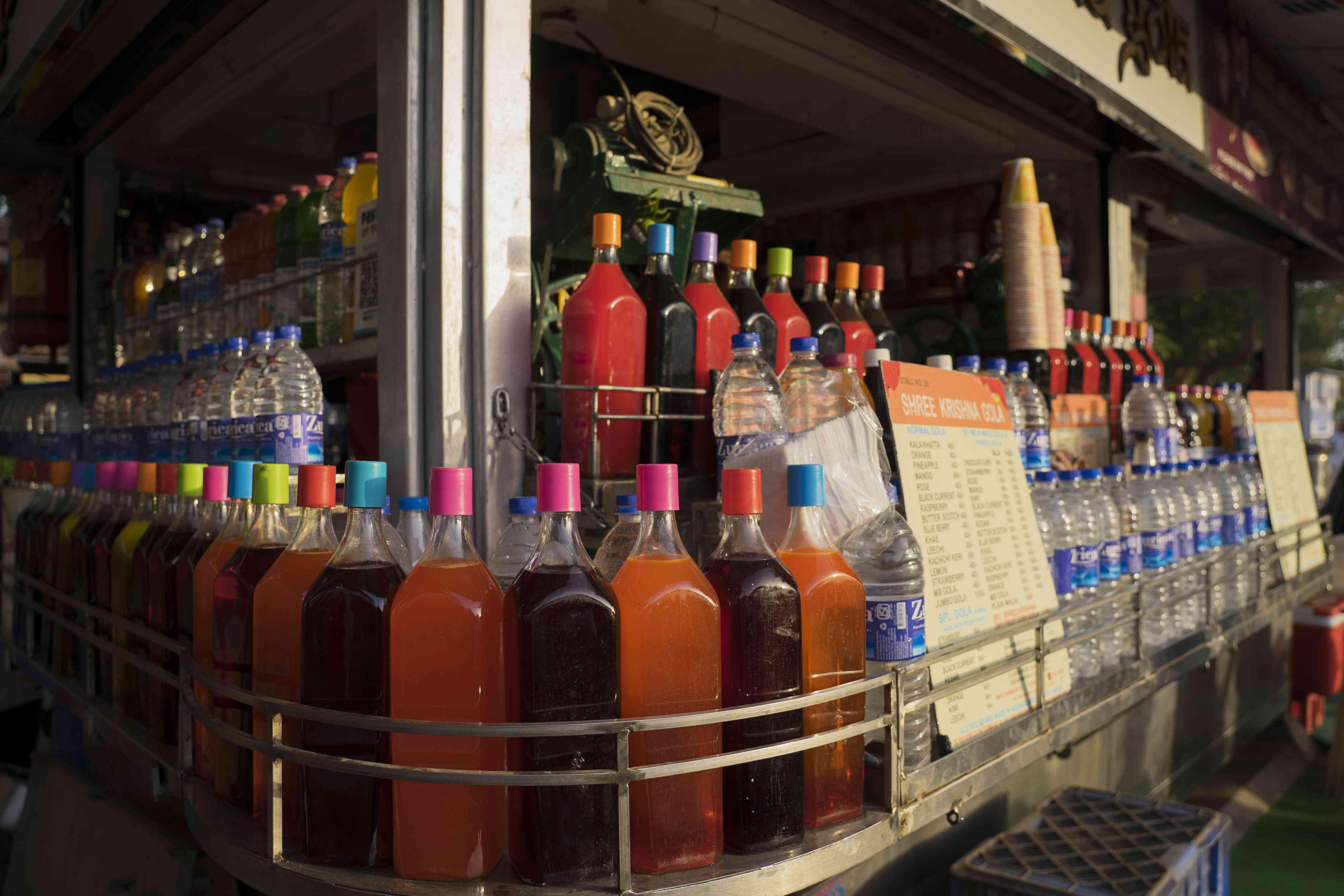 Drink cart on Marine Drive