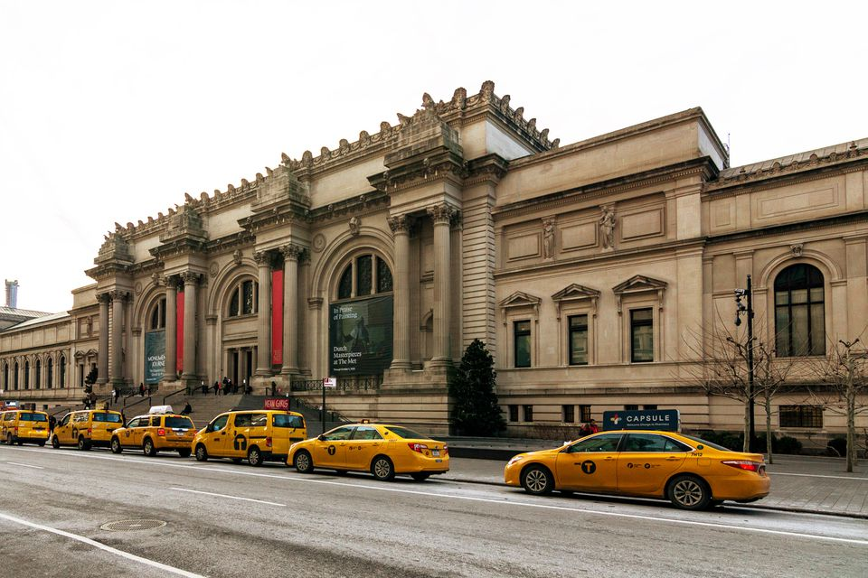 Exterior of the Met Museum museum