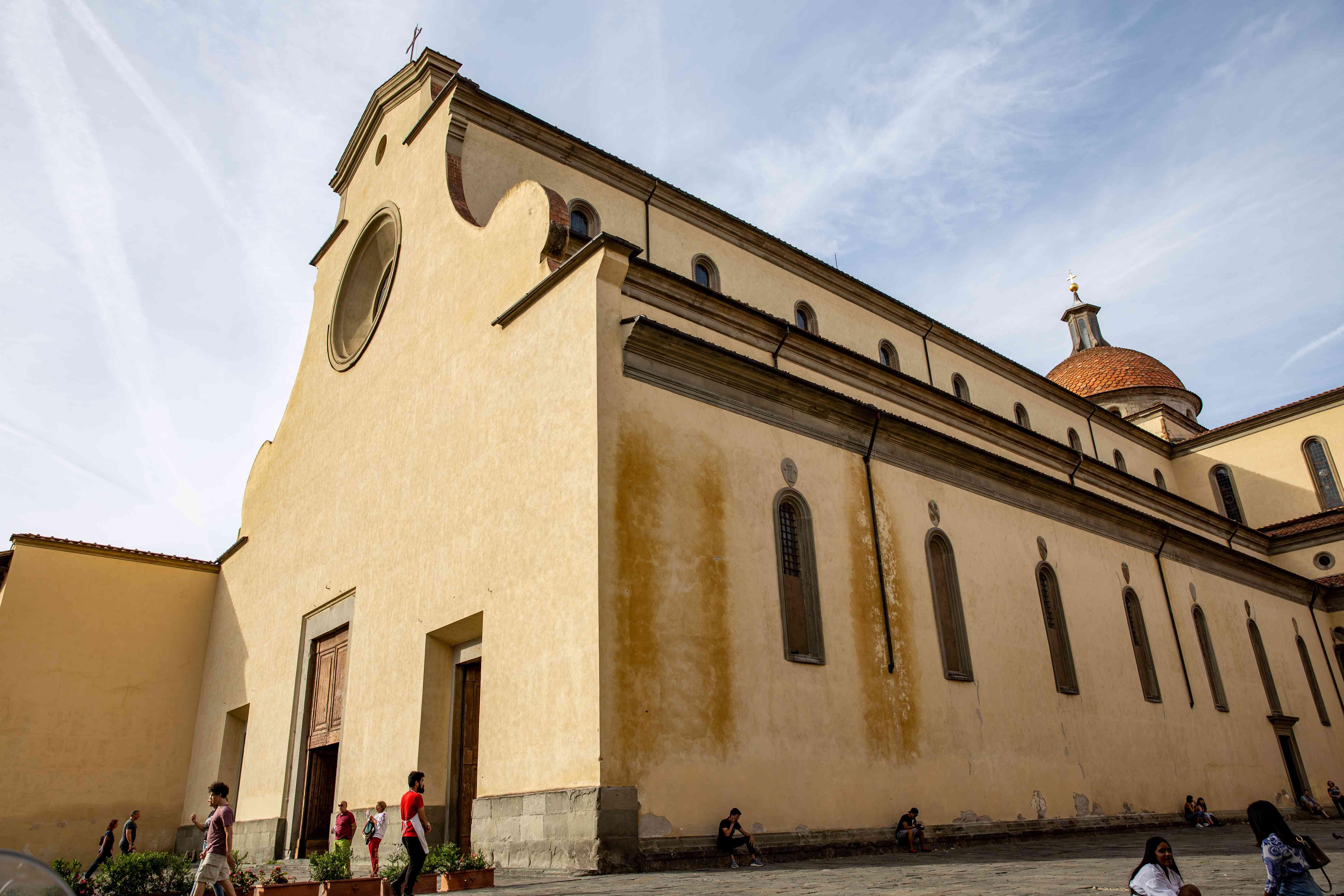 Basilica di Santo Spirito in Florence, Italy