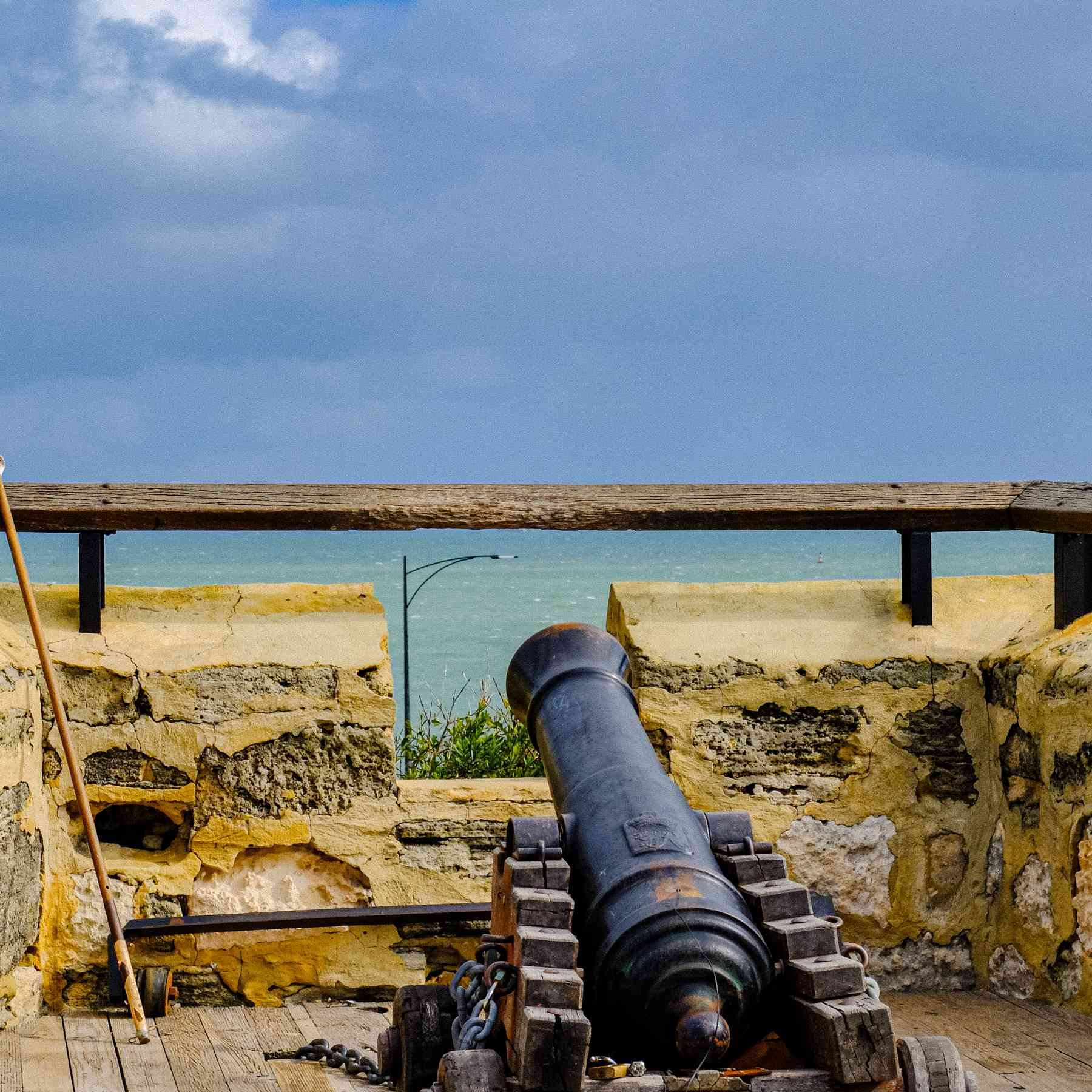 Cannon at the Freemantle Prison