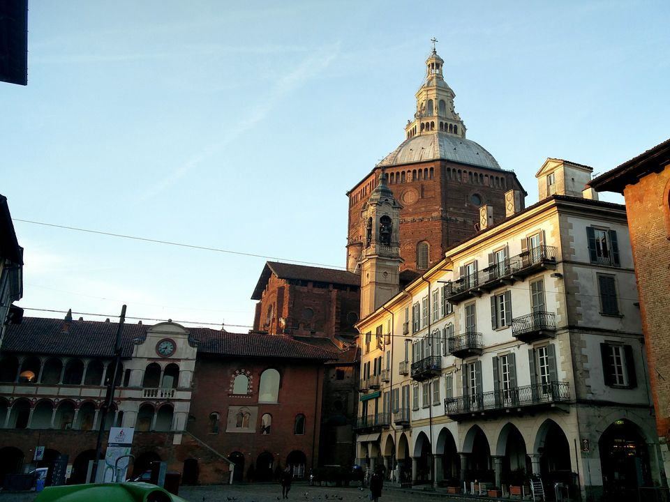 Pavia Cathedral Against Sky