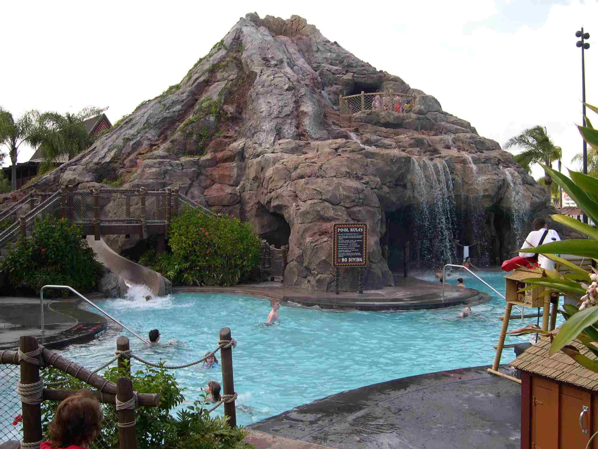 Polynesian Resort Nanea Volcano Pool