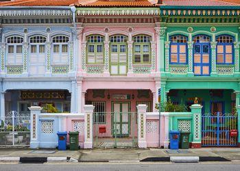 Singapore, Peranakan houses in Euros District