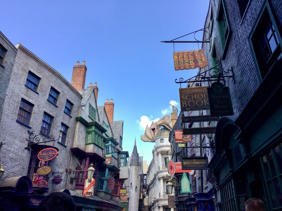 Diagon Alley, Wizarding World of Harry Potter, Universal Studios Orlando, Florida